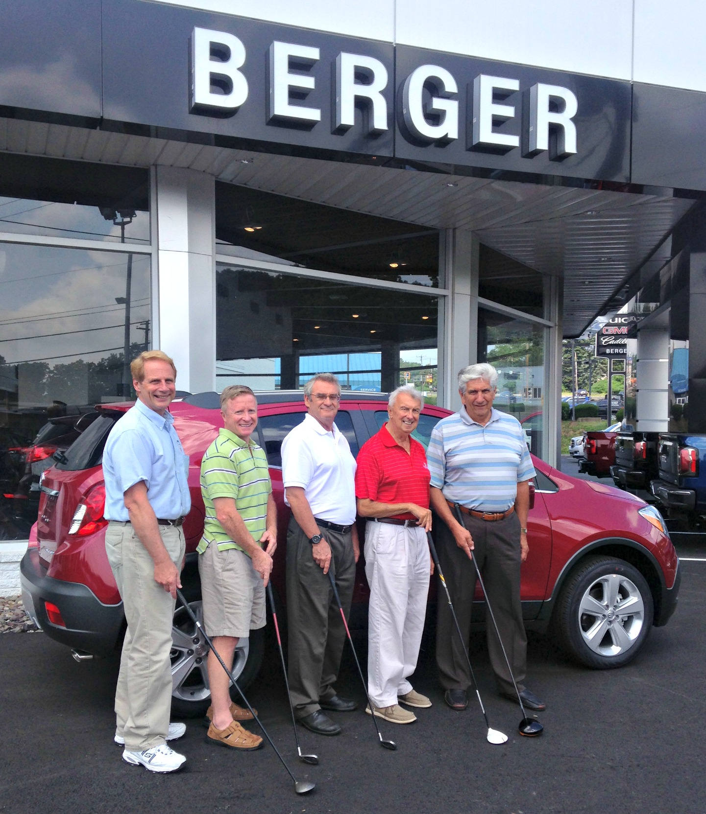 Berger Family Dealerships Sponsors Hole in One Contest for Annual Golf Outing